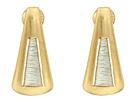Robert Lee Morris Triangle Wire Wrap Drop Earrings