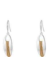 Robert Lee Morris - Wire Wrap Oval Drop Earrings