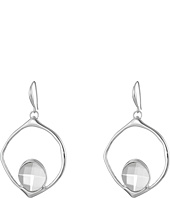 Robert Lee Morris - Black Diamond Large Drop Earrings
