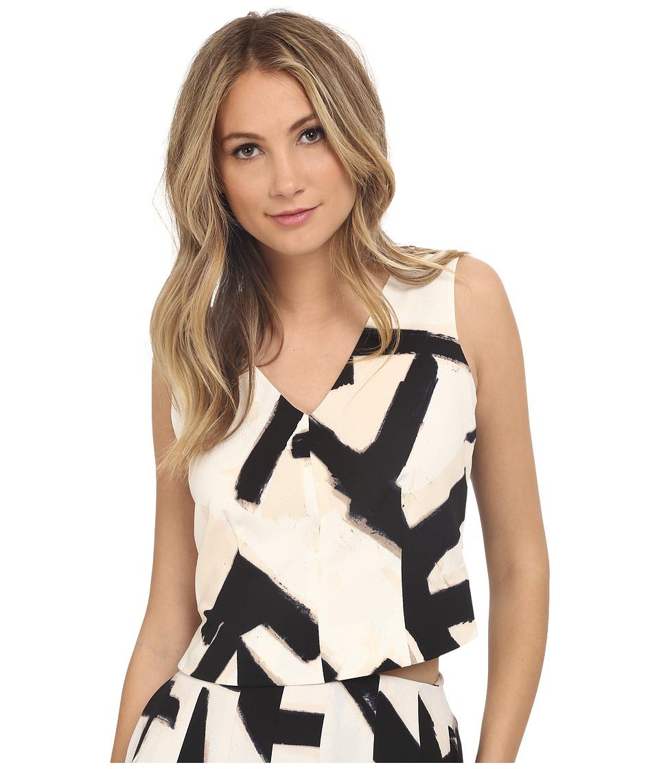 NICZOE Letterpress Top Multi Womens Clothing
