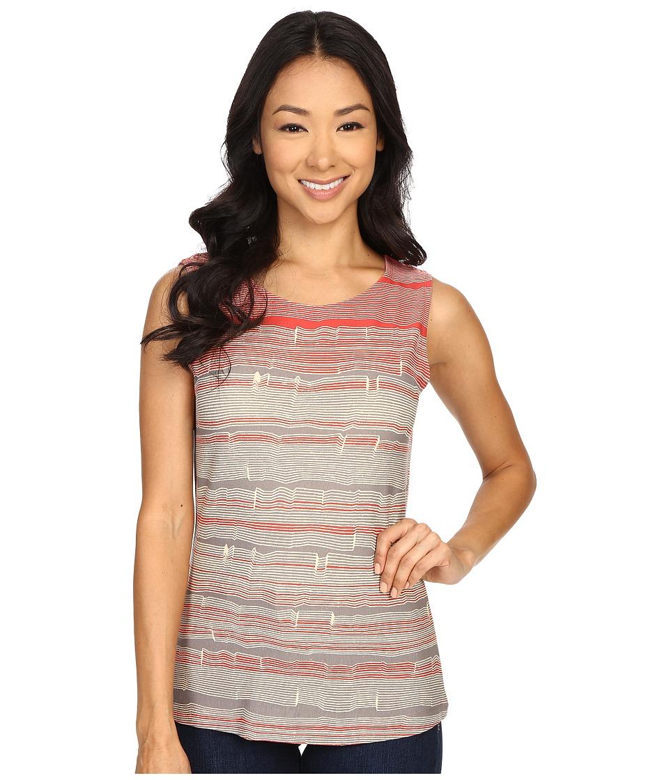NICZOE Spring Stripe Top Multi Womens Clothing