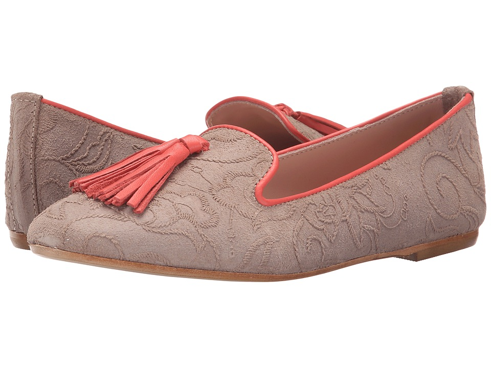 Summit White Mountain Coleen Tan Multi Suede Womens Flat Shoes