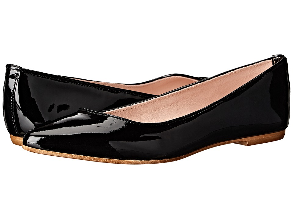 Summit by White Mountain Kamora (Black Patent Leather) Women