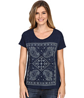 Lucky Brand - Embroidered Bandana Tee