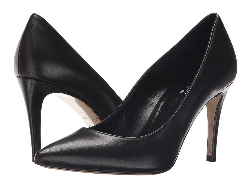 Summit White Mountain Sorina Black Leather High Heels
