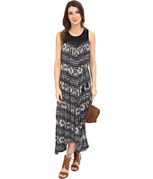 Lucky Brand - Crochet Yoke Printed Dress