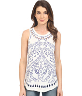 Lucky Brand - Eyelet Embroidered Tank Top
