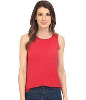 Lucky Brand - Paisely Embroidered Tank Top