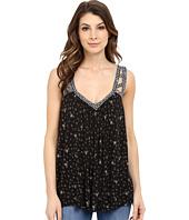 Lucky Brand - Geo Embroidered Tank Top