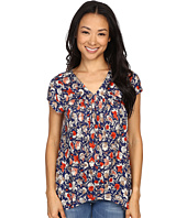 Lucky Brand - Multi Floral Print Top