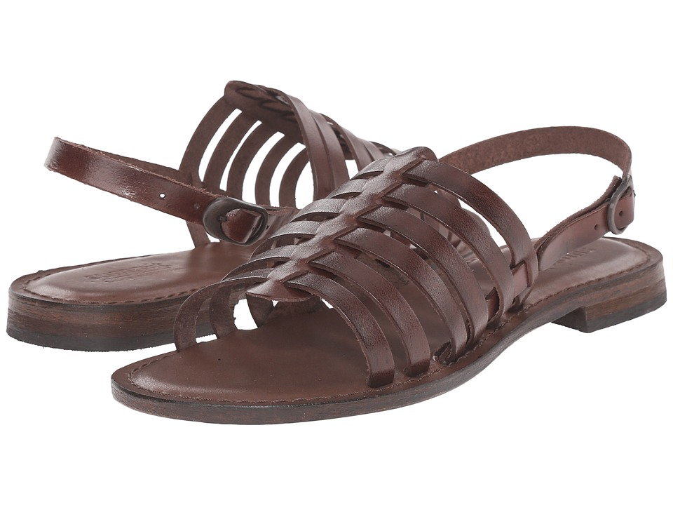 Summit White Mountain Elanna Espresso Leather Womens Sandals