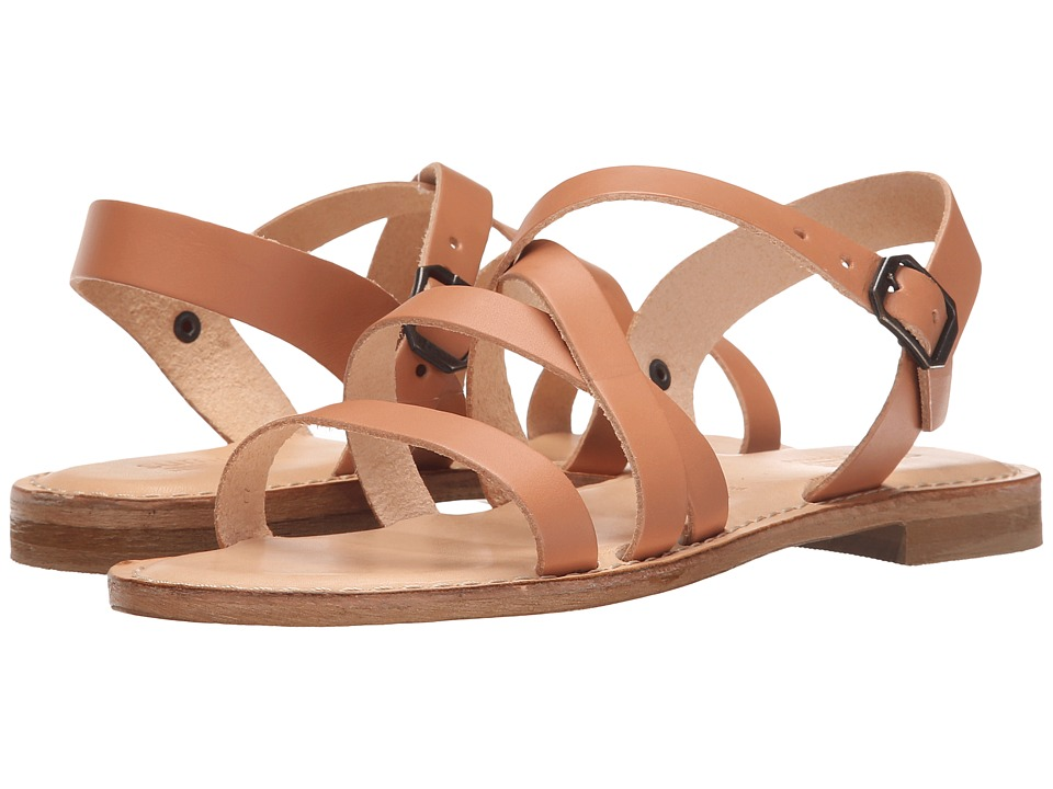Summit White Mountain Elissia Natural Leather Womens Sandals