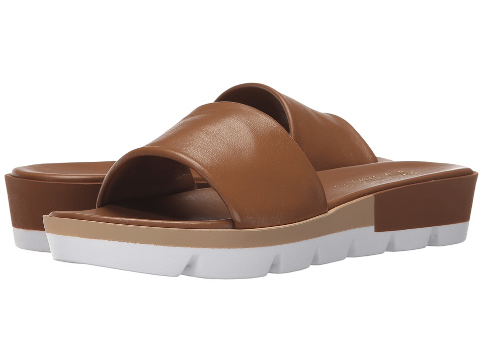 Summit White Mountain Faye Brown Leather Womens Sandals