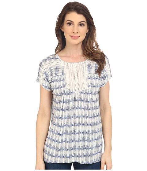 Lucky Brand Crochet Bib Top