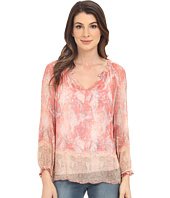 Lucky Brand - Faded Paisley Top