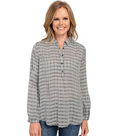 Lucky Brand - Black & White Plaid Top