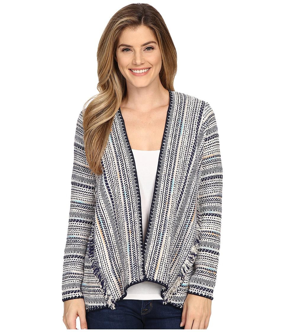 Lucky Brand Pottery Cardigan Multi Womens Sweater