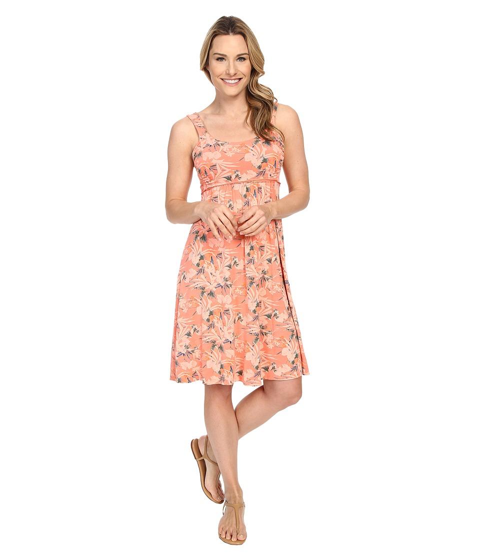 Fresh Produce Paradise Impromptu Dress Melon Sherbet Womens Dress