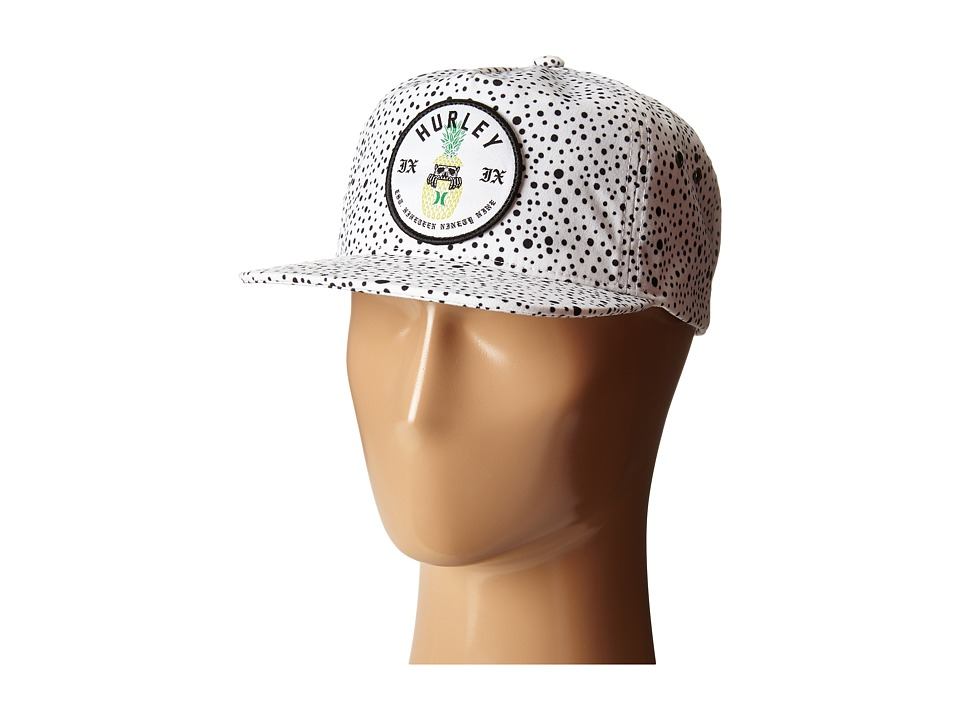 Hurley Beach Cruiser Hat White Caps