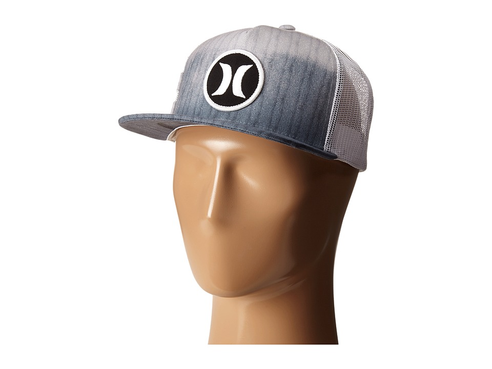 Hurley Block Party Hyper Flow Hat Wolf Grey Caps