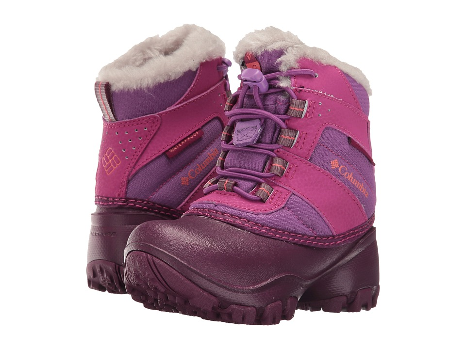 Columbia Kids Rope Tow III Waterproof (Toddler/Little Kid/Big Kid) (Northern Lights/Melonade) Girls Shoes