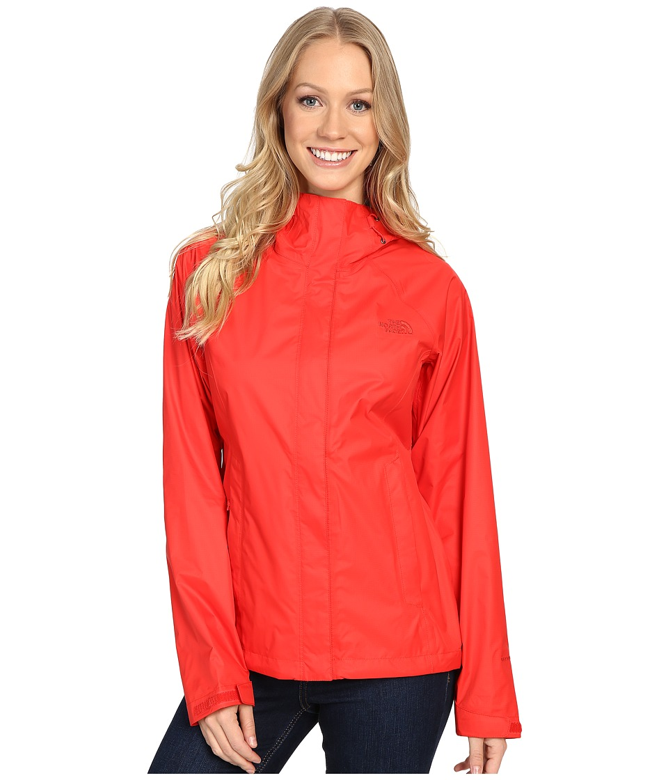 The North Face Venture Jacket (High Risk Red) Women