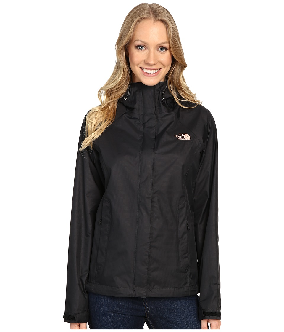 The North Face Venture Jacket (TNF Black/Rose Dawn) Women