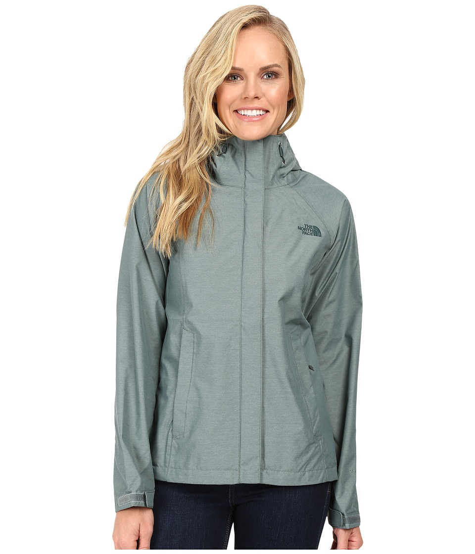 The North Face Venture Jacket (Balsam Green Heather) Women