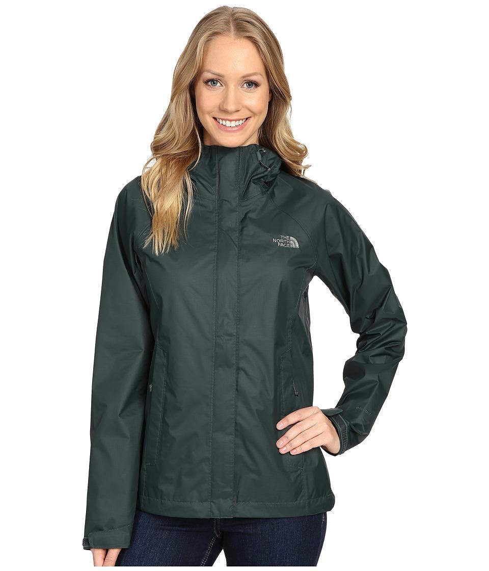The North Face Venture Jacket (Darkest Spruce) Women