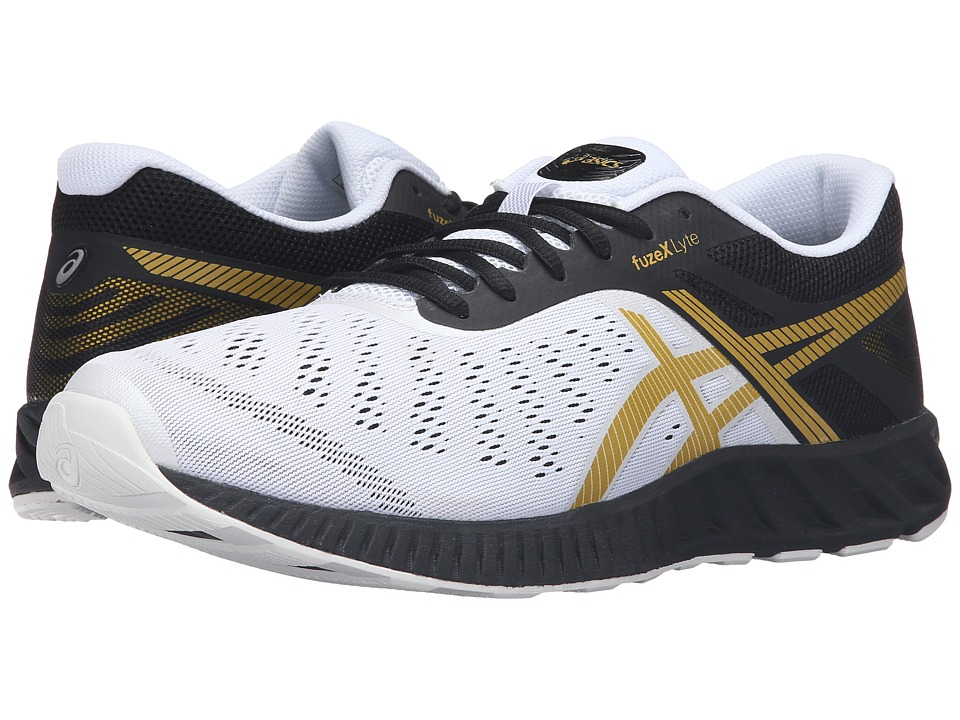 ASICS FuzeX Lyte (Black/Rich Gold/White) Men
