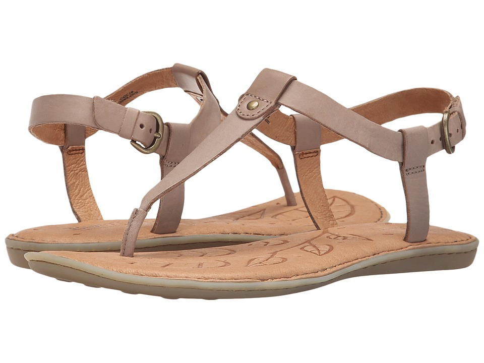 Born Lo Moon Full Grain Leather Womens Sandals