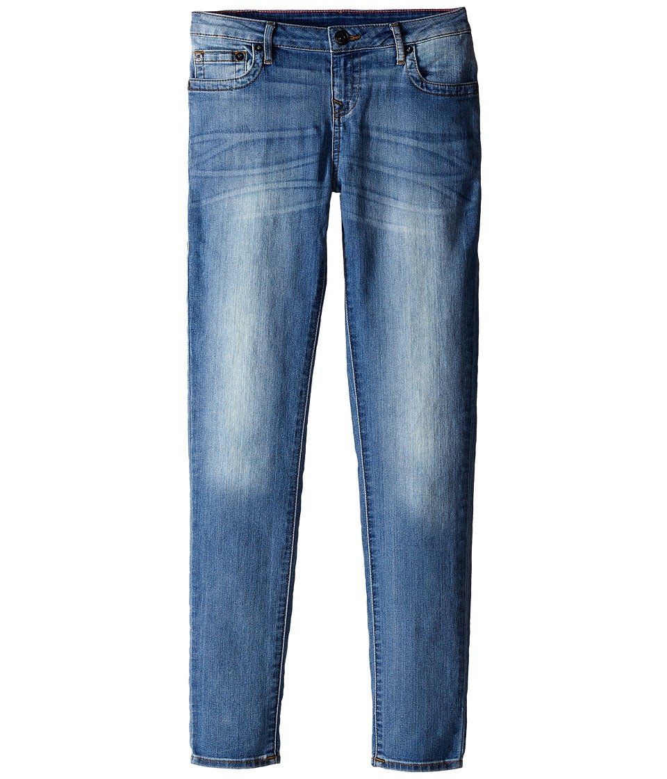 True Religion Kids Casey Skinny Jeans in Cielo Big Kids Cielo Girls Jeans
