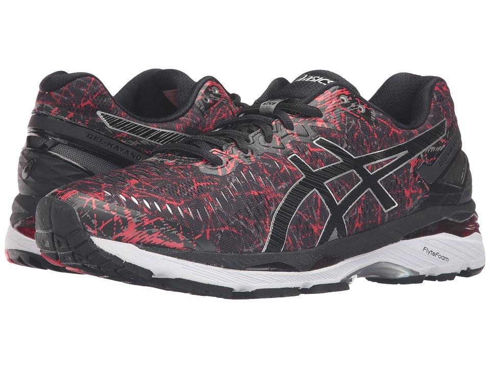 ASICS - Gel-Kayano 23 (Vermilion/Black/Silver) Mens Running Shoes