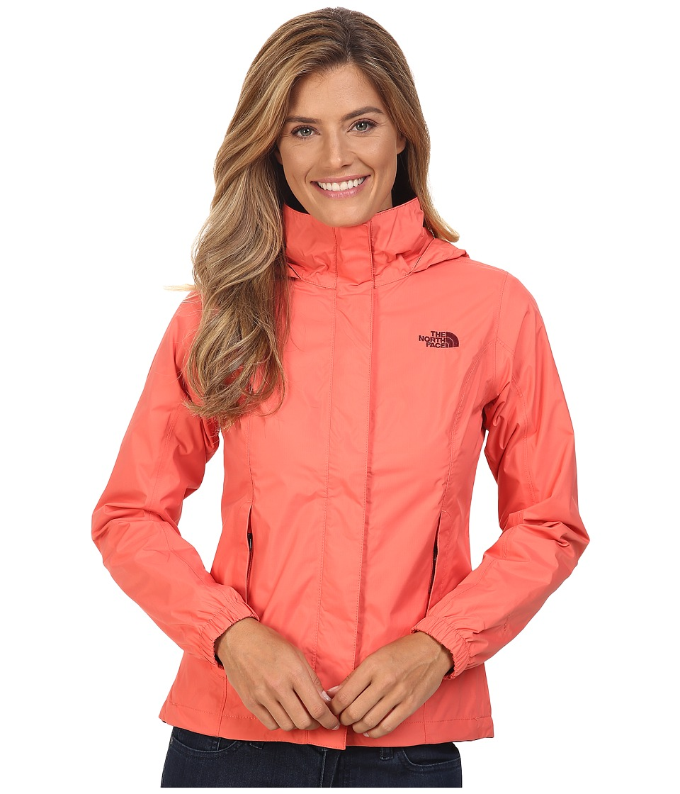 The North Face Resolve Jacket (Spiced Coral) Women