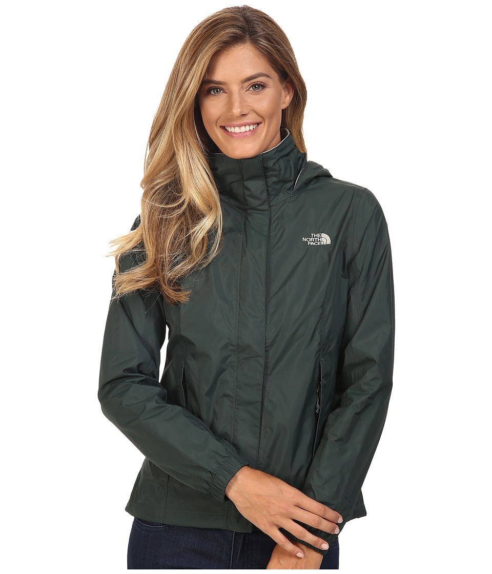 The North Face Resolve Jacket (Darkest Spruce) Women