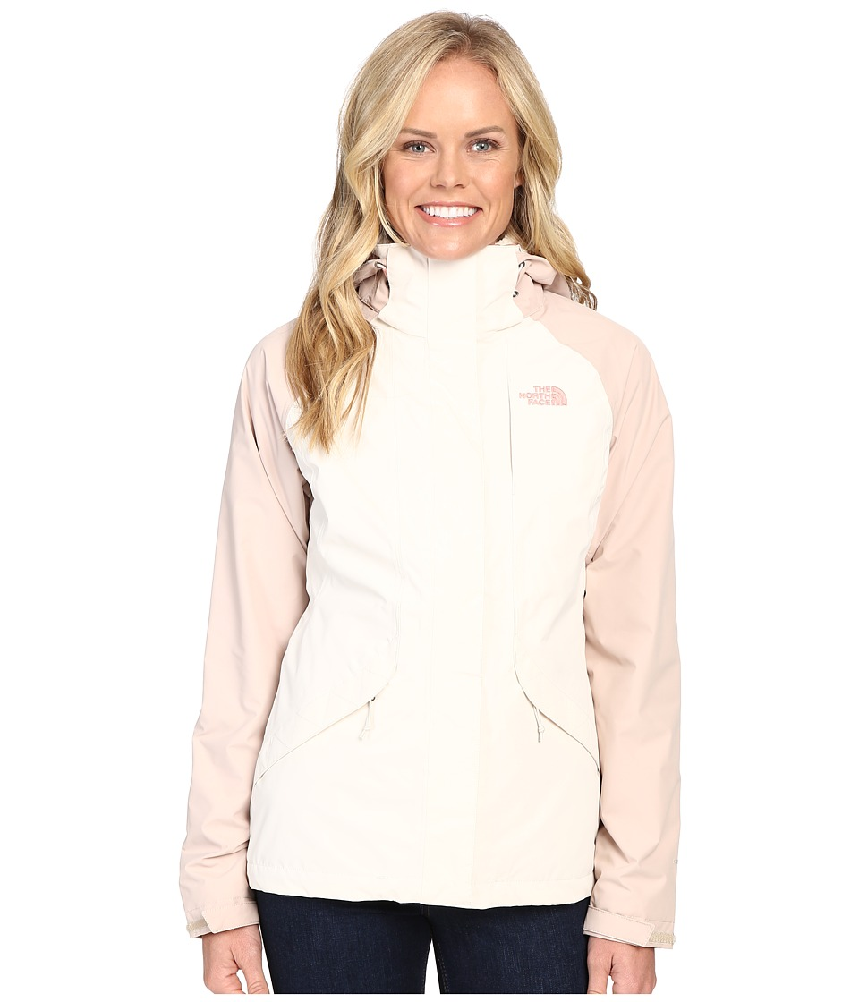 The North Face Boundary Triclimate(r) Jacket (Vintage White/Doeskin Brown (Prior Season)) Women