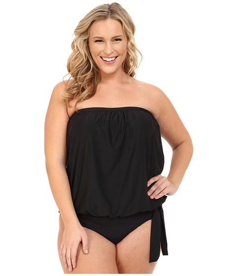Athena Plus Size Cabana Solids Soft Cup Bandini