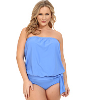 Athena - Plus Size Cabana Solids Soft Cup Bandini
