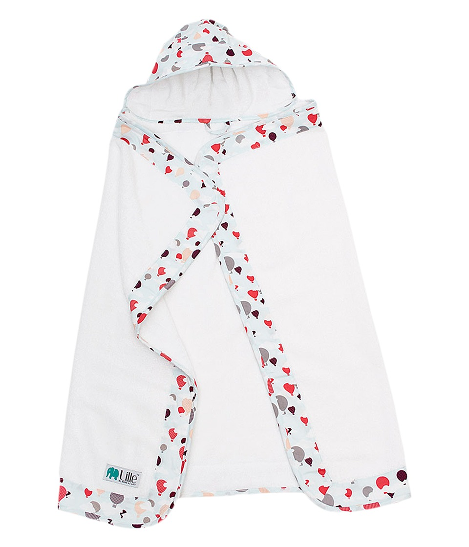 Bebe au Lait - Hooded Towel - Infant (Hot Air Balloons) Accessories Travel