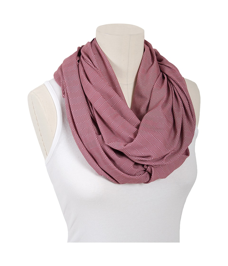 Bebe au Lait Jersey Nursing Scarf Marsala Accessories Travel