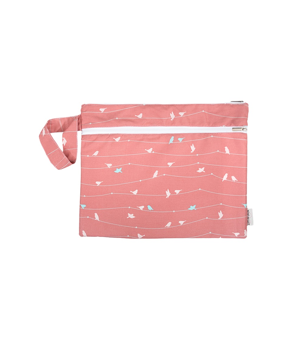 Image of Bebe au Lait - Grand Wet/Dry Bag (Birdie) Accessories Travel