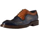Image of Messico - Fabricio (Vintage Blue/Vintage Camel Leather) Men's Shoes