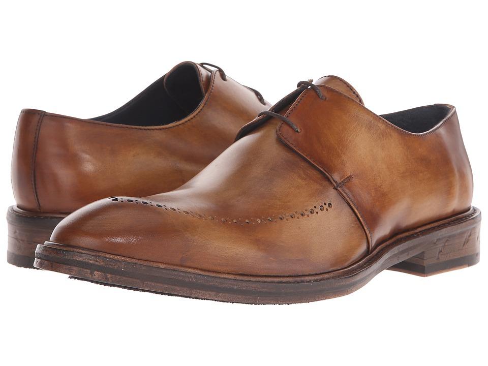Messico Edgar Vintage Honey Leather Mens Shoes
