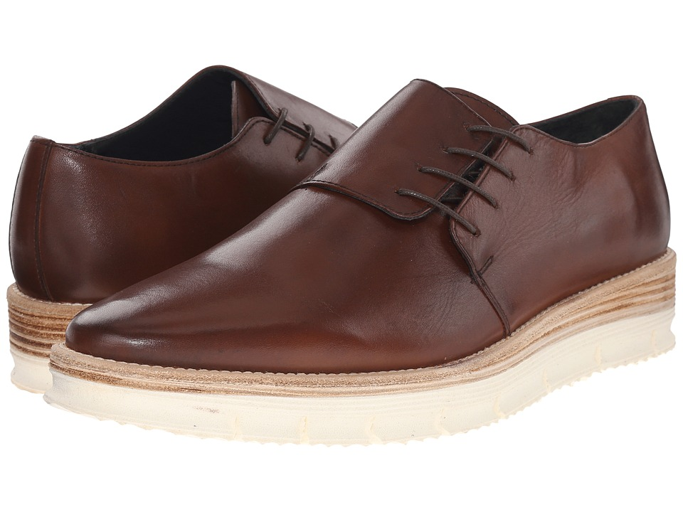 Messico George Brown Leather Mens Shoes
