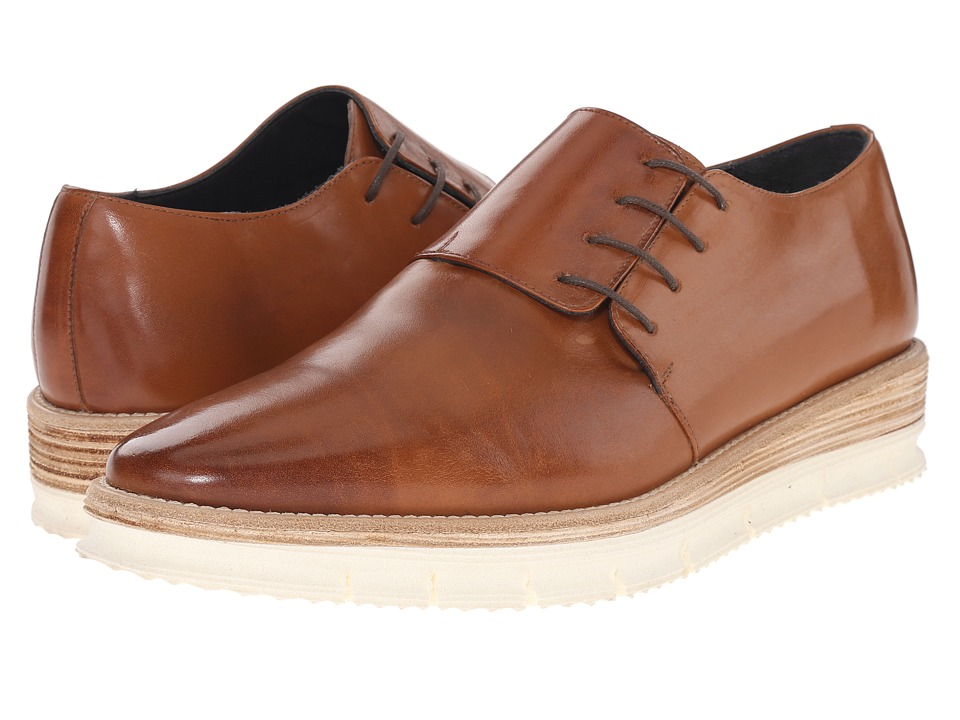 Messico George Honey Leather Mens Shoes