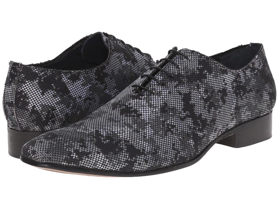 Messico Herminio Oxford Camo Leather Mens Shoes