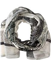 Etro - Patterend Linen & Silk Scarf