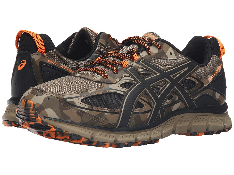 ASICS Gel-Scram 3 (Light Brown/Black/Hot Orange) Men