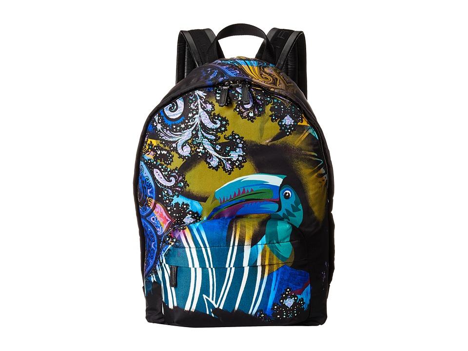 Etro 1G7772722 Multi Print Backpack Bags
