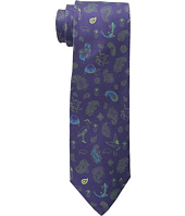 Etro - Animal Pattern Regular Width Silk Tie